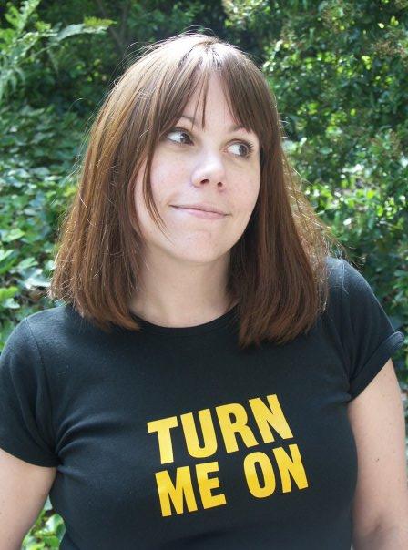T-shirt Turn me on